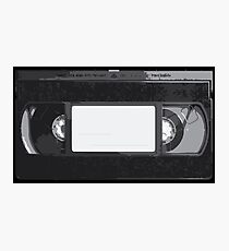 VHS Tape Photographic Print