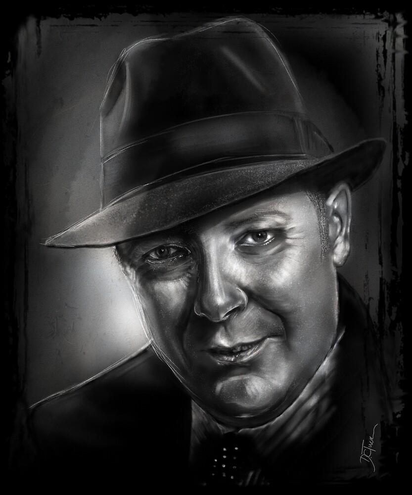 "Raymond ""Red"" Reddington by danielctuck"