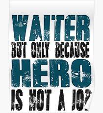 Waiter Hero Poster
