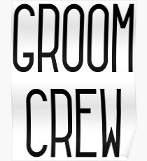 Groom Crew Poster