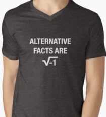 Alternative Facts Are square root of negative 1 - white T-Shirt