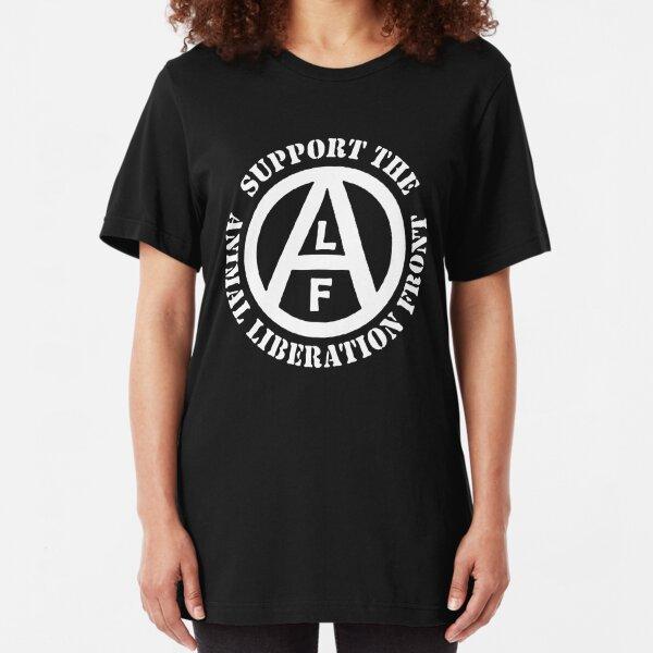 Animal Liberation Front Slim Fit T-Shirt