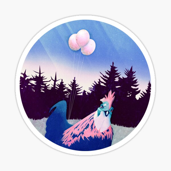 What the Hegg (Pink Version) Sticker
