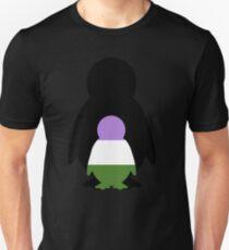 Genderqueer Mama Penguin T-Shirt