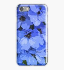 Lupins are Blue iPhone Case/Skin