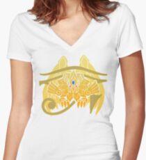 TEAM PHOENIX (Yu-Gi-Oh GO) Women's Fitted V-Neck T-Shirt