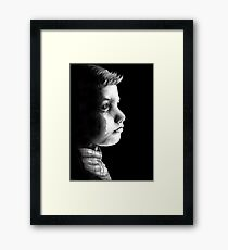 Some Scars you Can't Hide Framed Print