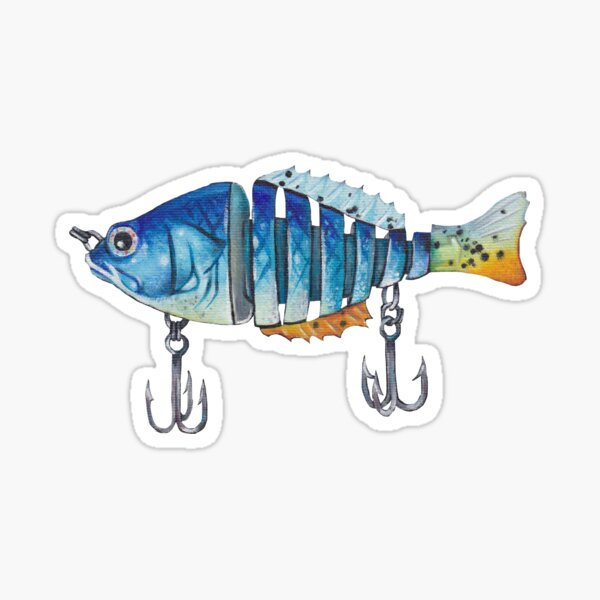 Warning Hands Off Lures Decal Sticker Fish Fly Rod Tackle Box Trout Bass Funny