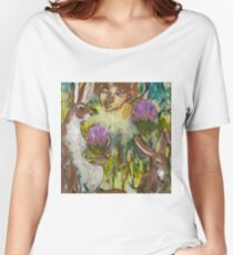 Rabbits and Woman Women's Relaxed Fit T-Shirt