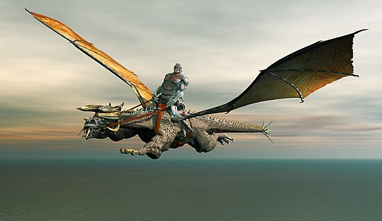 Dragon Rider by Walter Colvin