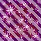 Daisies and Diagonals by Dana Roper