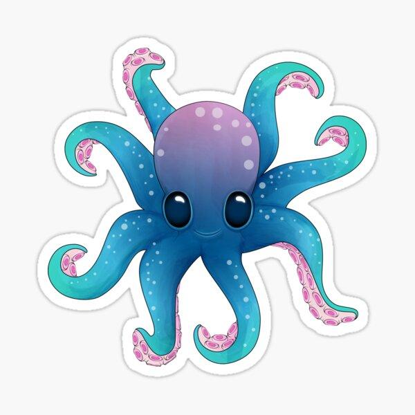 Octopus friend_Pattern Sticker
