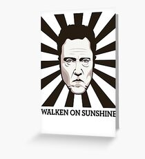 Walken on Sunshine - Christopher Walken Greeting Card