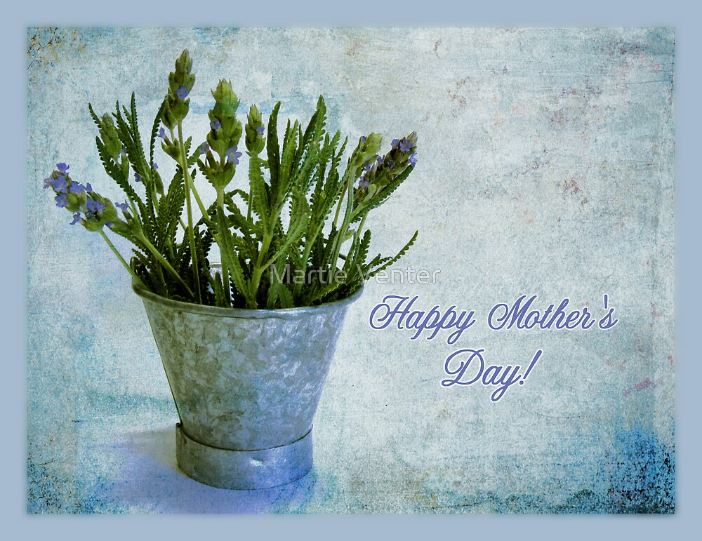 Lavender for Mother's Day by Martie Venter