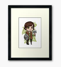 Chibi Hiccup  Framed Print