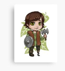 Chibi Hiccup  Canvas Print