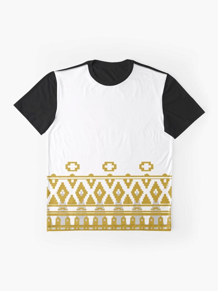 Journey: White Cloak Pattern | Graphic T-Shirt