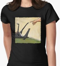 The Hand of Dog Women's Fitted T-Shirt