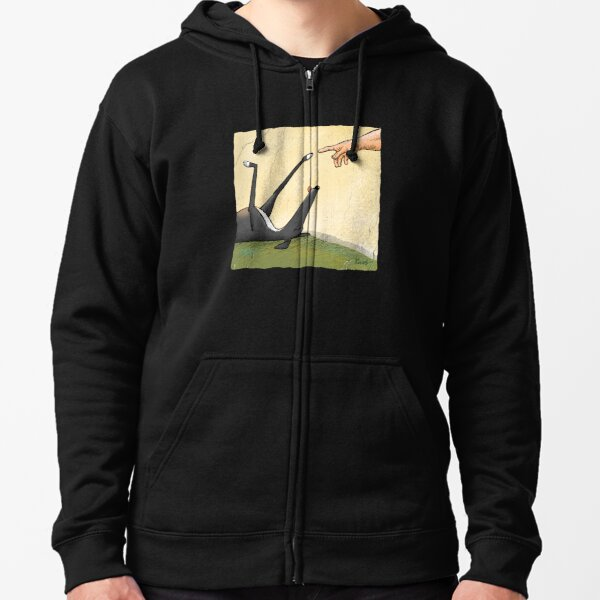 The Hand of Dog Zipped Hoodie