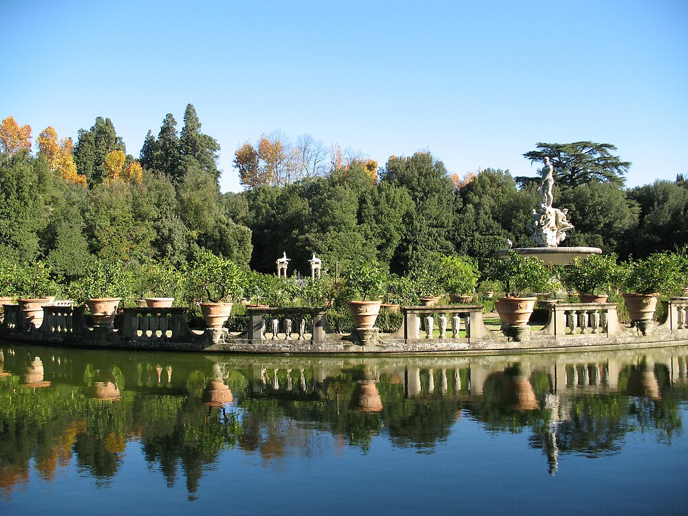 Reflections of an Italian Garden by hoboannie