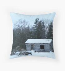 winter desolation Throw Pillow