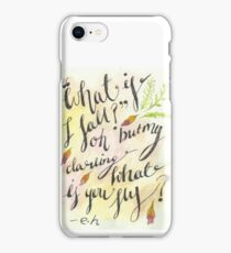 What if you fly? iPhone Case/Skin