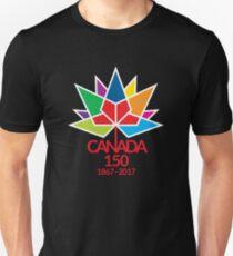 Canada Day Celebrating 150 Years Unisex T-Shirt