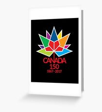Canada Day Celebrating 150 Years Greeting Card