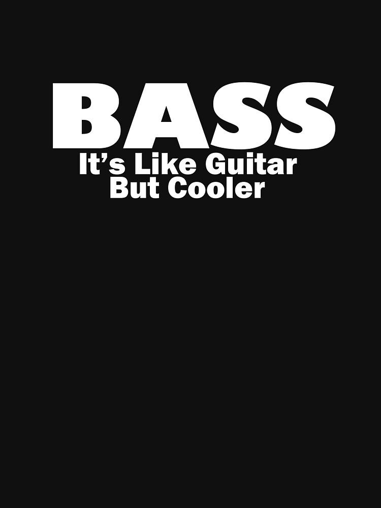 Bass for ever (White) | Unisex T-Shirt