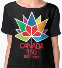 Canada Day Celebrating 150 Years Chiffon Top
