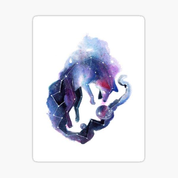 Galaxy Fox Sticker