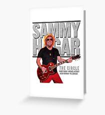 sammy hagar summer tour 2017 Greeting Card