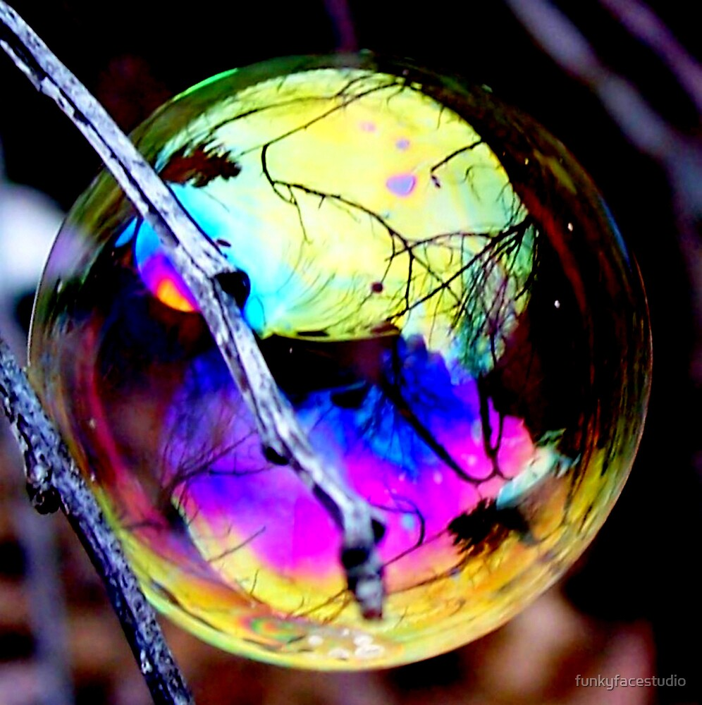 Bubble Reflections by funkyfacestudio