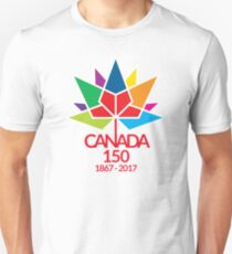 Canada Day Celebrating 150 Years Unisex T-Shirt