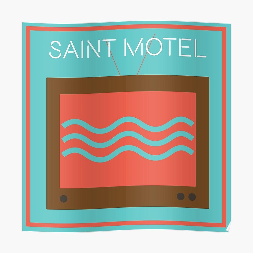 Saint Motel (Minimalista) Póster