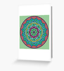 The Heart Like A Flower Grows Greeting Card