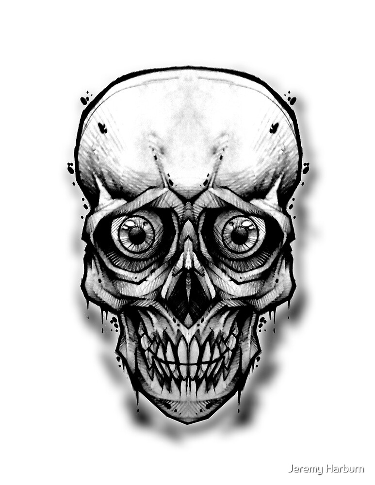 All Seeing Skull by Jeremy Harburn