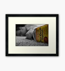 1 Tequila,2 Tequila,3Tequila..........FLOOR Framed Print