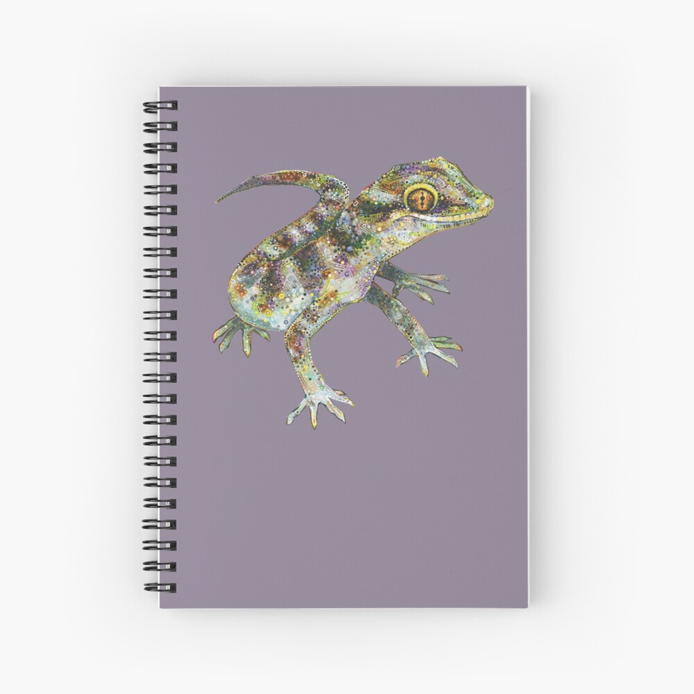 Bynoe's Gecko Painting - 2012 Spiral Notebook