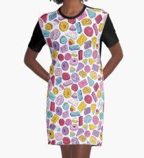Biscuit Crazy Graphic T-Shirt Dress