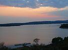Sunset on Lake Buchanan by Cathy Jones