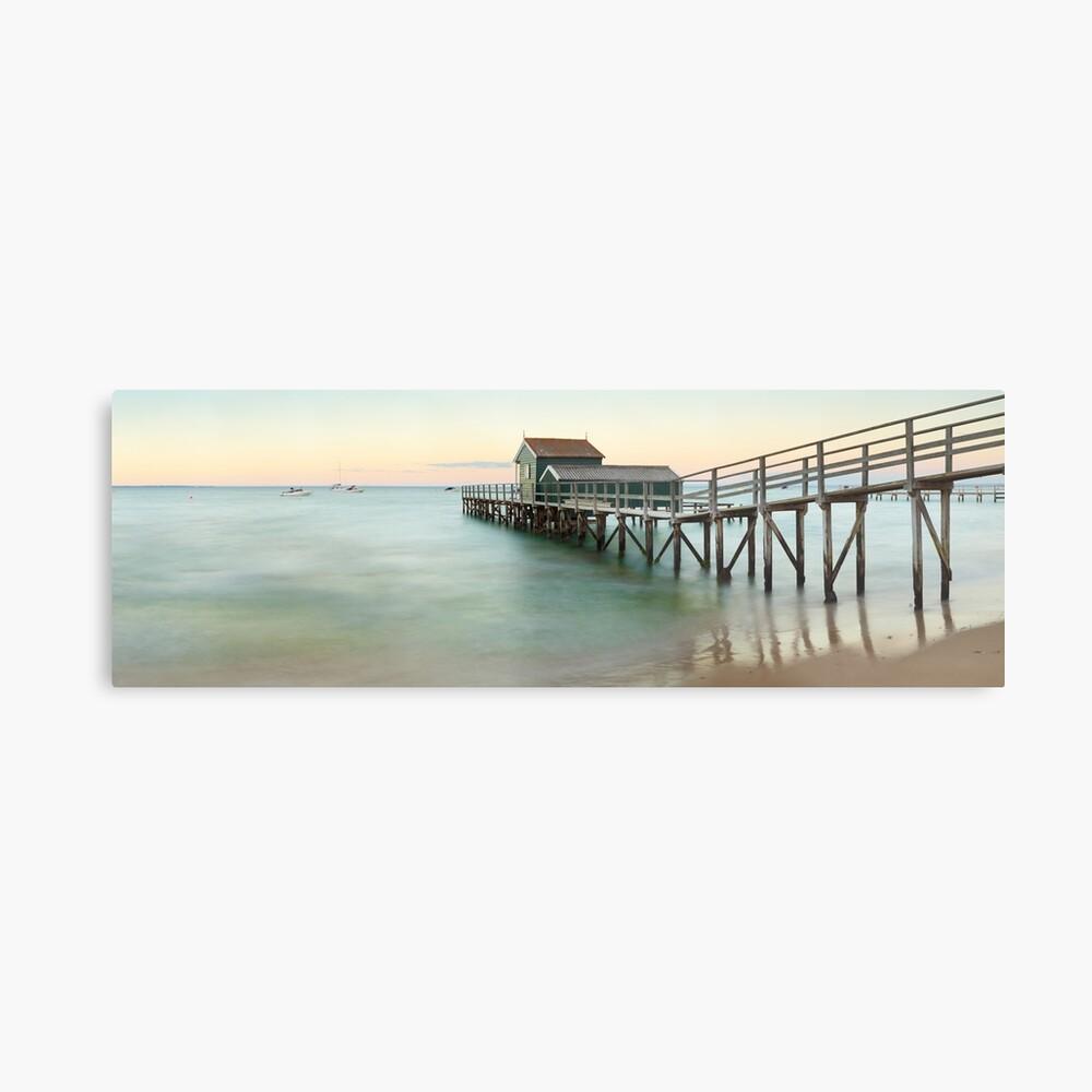Portsea Pier, Mornington Peninsula, Victoria, Australia Metal Print