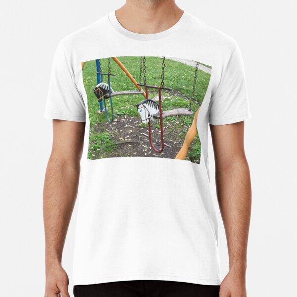 Hobby Horses at the park Premium T-Shirt