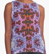 BBQSHOES™ Fractal Mother of Pearl Design 1814 Contrast Tank