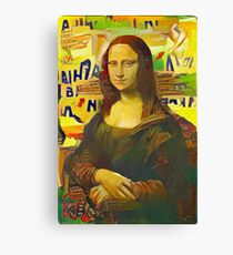 Mona Lisa revisited Canvas Print