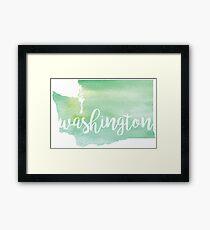 Washington Framed Print