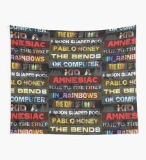 Radiohead Albums Wall Tapestry