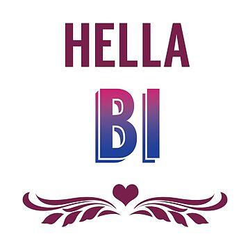 Hella Bi Pride by DonCorgi