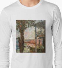 """""""Cedar Key Florida"""" Long Sleeve T-Shirt"""