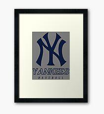 New York Yankees Baseball Framed Print